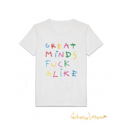 GREAT MINDS FUCK ALIKE TSHIRT