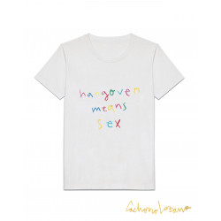 HANGOVER MEANS SEX TSHIRT