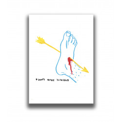 DON'T HURT YOURSELF PRINT