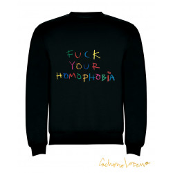 FUCK YOUR HOMOPHOBIA BLACK...