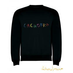 CACHORRO BLACK SWEATSHIRT