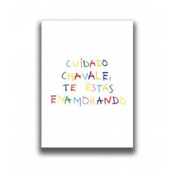 CUIDADO CHAVALE PRINT