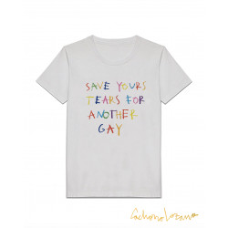SAVE YOUR TEARS WHITE TSHIRT