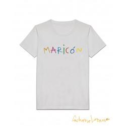 MARICÓN WHITE TSHIRT