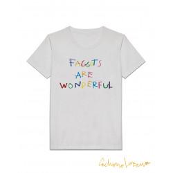 FAGGOTS ARE WONDERFUL WHITE...