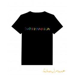 SUPERMARICA BLACK TSHIRT