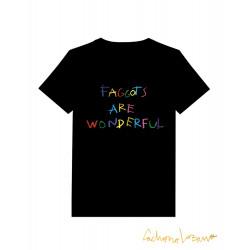 FAGGOTS ARE WONDERFUL BLACK...