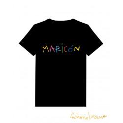 MARICÓN BLACK TSHIRT