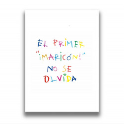 EL PRIMER MARICÓN PRINT