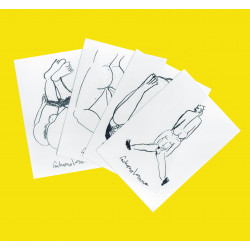 PACK OF 4 POSTCARDS