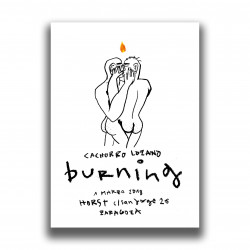 PRINT POSTER OF BURNING...