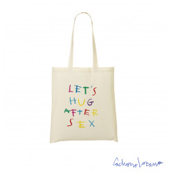 LETS HUG AFTER SEX TOTE BAG