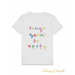 TENGO GANAS DE VERTE TSHIRT