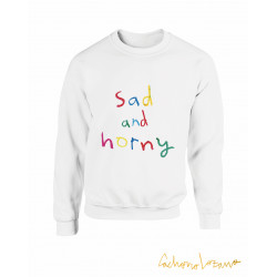 SAD AND HORNY SWEATSHIRT
