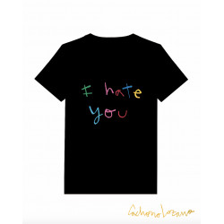 I HATE YOU CAMISETA NEGRA