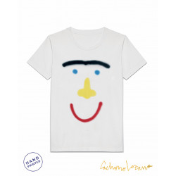 SMILEY CACHORRO WHITE TSHIRT