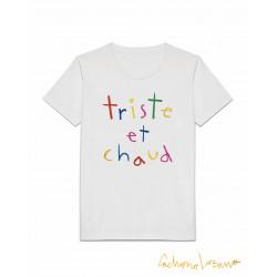 TRISTE ET CHAUD WHITE TSHIRT